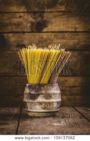 Pasta With Ingredients