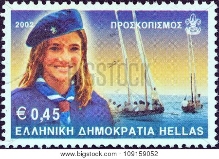 GREECE - CIRCA 2001: A stamp printed in Greece from the