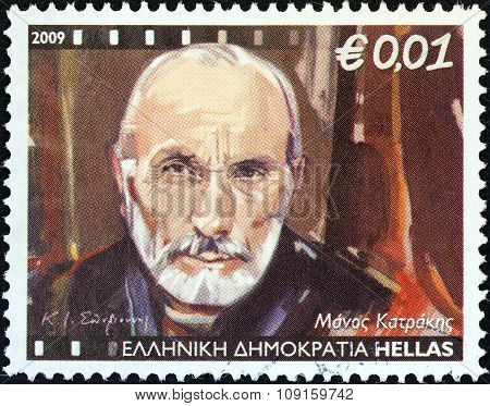 GREECE - CIRCA 2009: A stamp printed in Greece from the