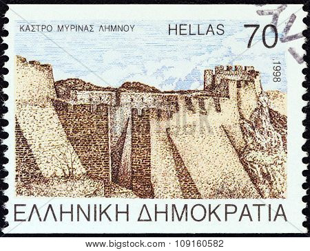 GREECE - CIRCA 1998: A stamp printed in Greece from the