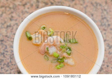 Shrimp Bisque Soup