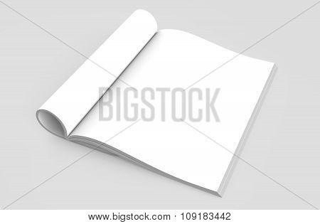 Magazine Open