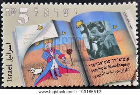 ISRAEL - CIRCA 1994: a postage stamp printed in Israel shows an image of The Little Prince