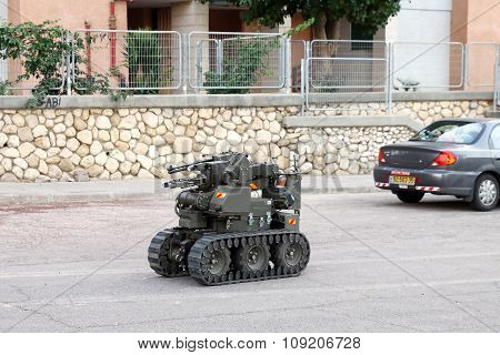 Military Or Police Bomb Disposal Robot