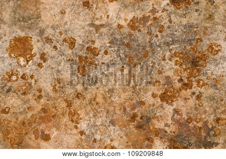 Metal Background With Rusty Corrosion Seamlessly Tileable