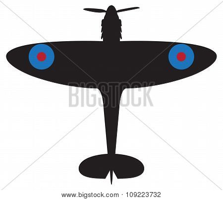Spitfire Silhouette