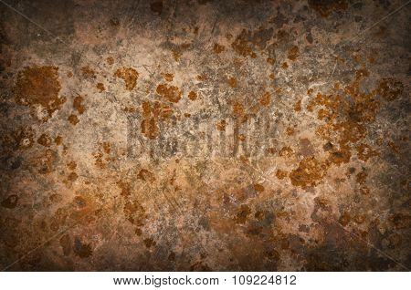 Metal Background With Rusty Corrosion