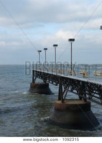 Pier At Lake Erie
