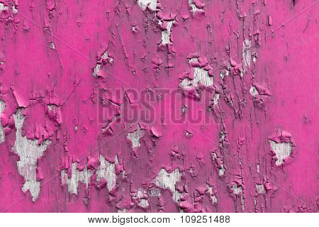 Pink Peeling Paint