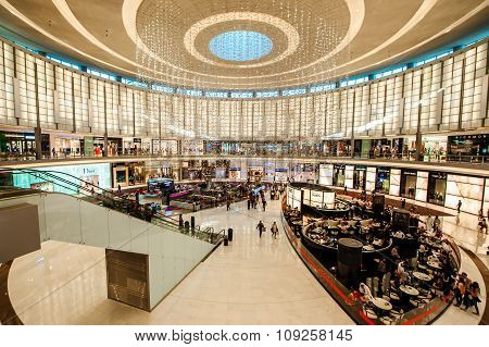 The Dubai Mall linterior,UAE