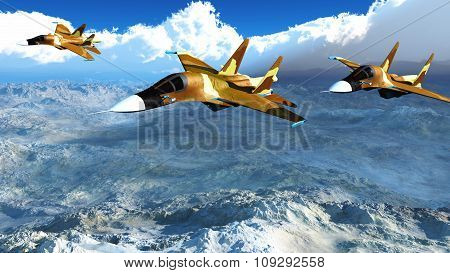 The Russian warplane s-34