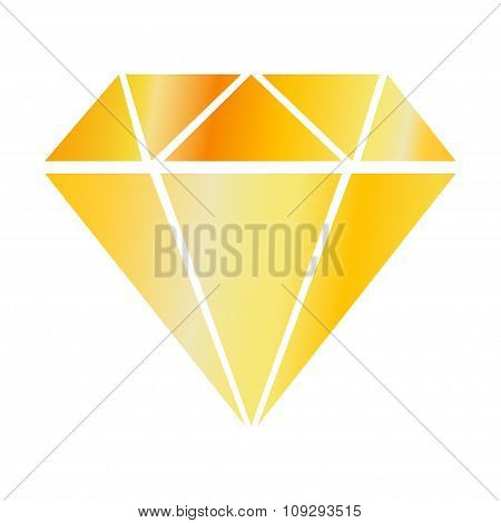 Valuable Gold Color Stone Simplicity Of Execution