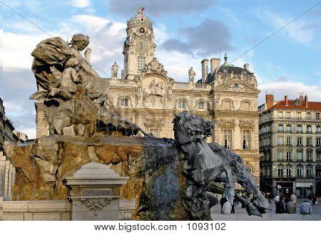 The Bartholdi Fountain (Lyon-France)