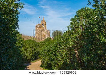 Europe, Portugal, Alentejo Region - View from Montemor o Novo medieval Castle