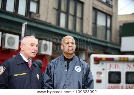 William Bratton & Jeh Charles Johnson