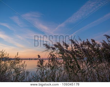 Sunset in Lefkas island Greece