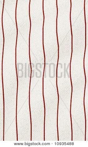 Red Wrinkled Pinstripes