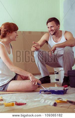 Couple Is Happy