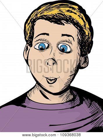 Giddy Child Cartoon