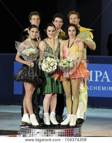 Medal Winners In Ice Dance