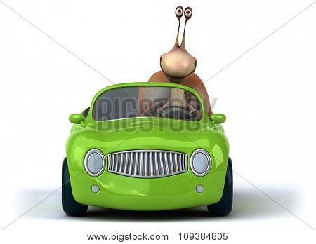 Fun snail
