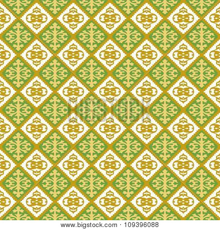 Seamless background image of vintage jagged geometry shape pattern.