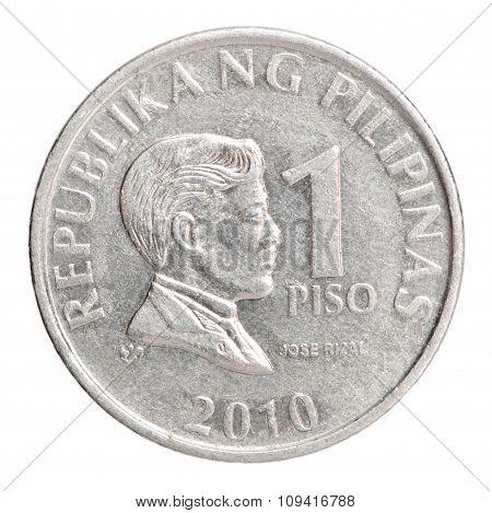 Philippine Piso Coin 1
