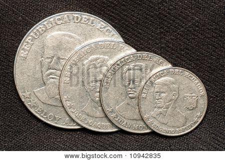 Coin of republic Ecuador