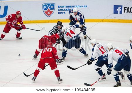 S. Kostitsyn (74) On Face-off