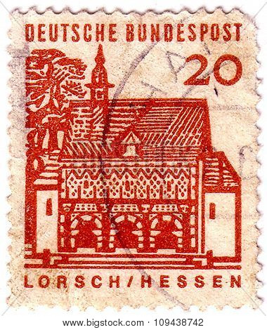 Germany - Circa 1964: A Stamp Printed In Germany From The