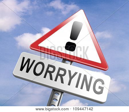 stop worrying no more worries solve all problems and relax keep calm and dont panic, panicking wont help just think positive and overcome problems poster