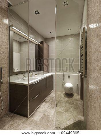 Bathroom Constructivist Style