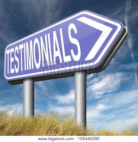 testimonial customer feedback testimonials or leave a comment  poster