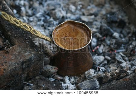 Turkish coffee.