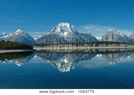 Jackson lake reflection