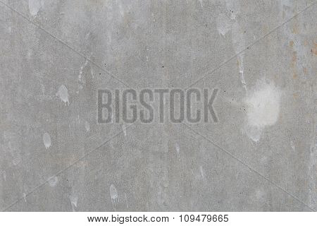 Grungy white concrete wall background. Background from high detailed fragment stone wall