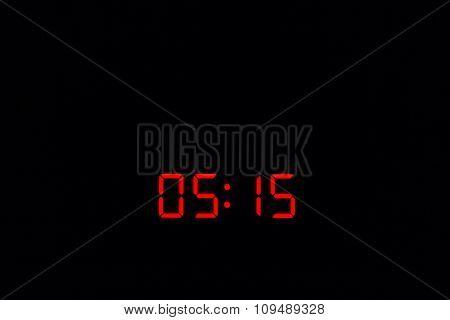 Digital Watch 05:15