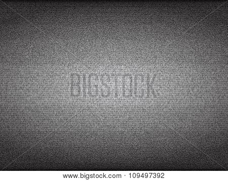 No signal TV screen. Grainy noise vector background