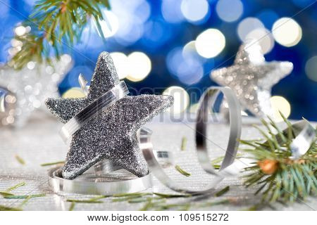 Christmas Star With Decoration