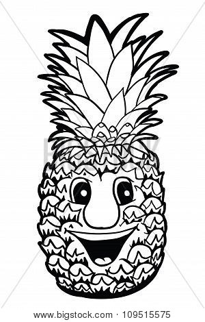 Pineapple With Smile