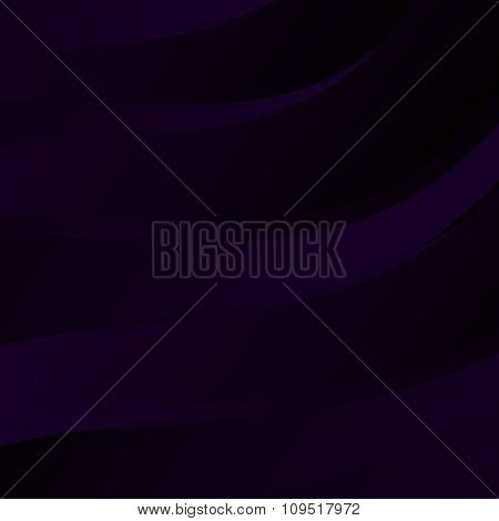 Abstract Dark Background with Waves