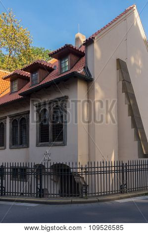 Synagogue In Prague Czech Republic