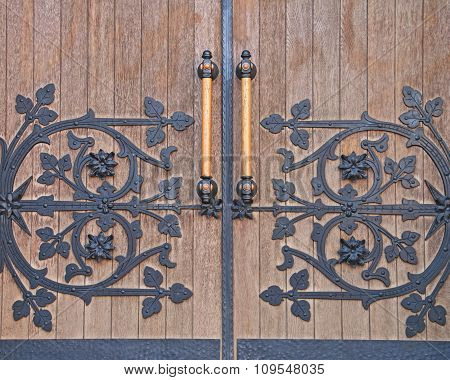 Strong Forged Door.
