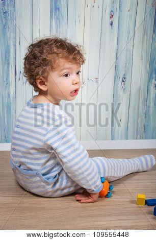 Baby Boy In Pj