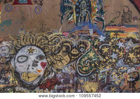 Urban Grafitti In Bisbee Arizona