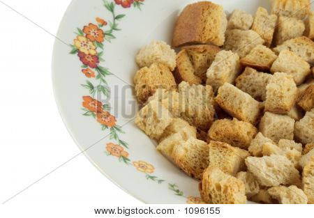 Crouton On A Plate