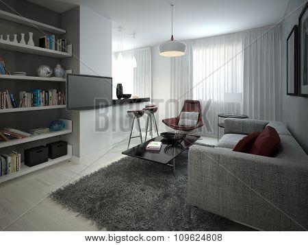 Studio Minimalist Style