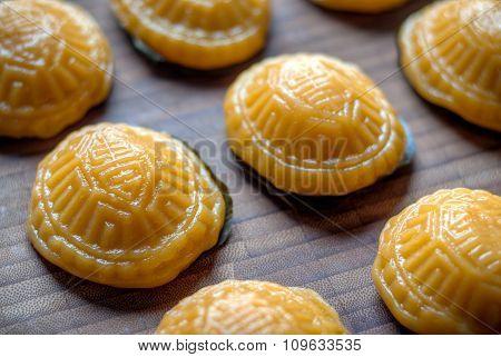 Yellow Tortoise Cake Ang Koo