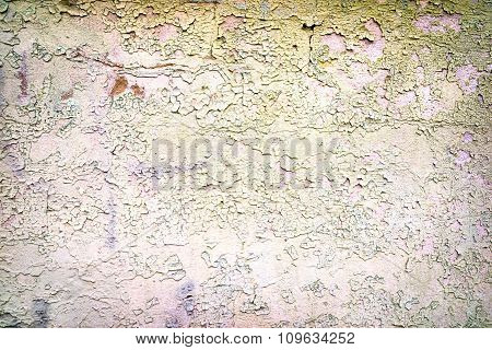 Old Tacky Rough Stone Wall Background