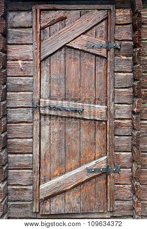 Stylized Antique Wooden Door